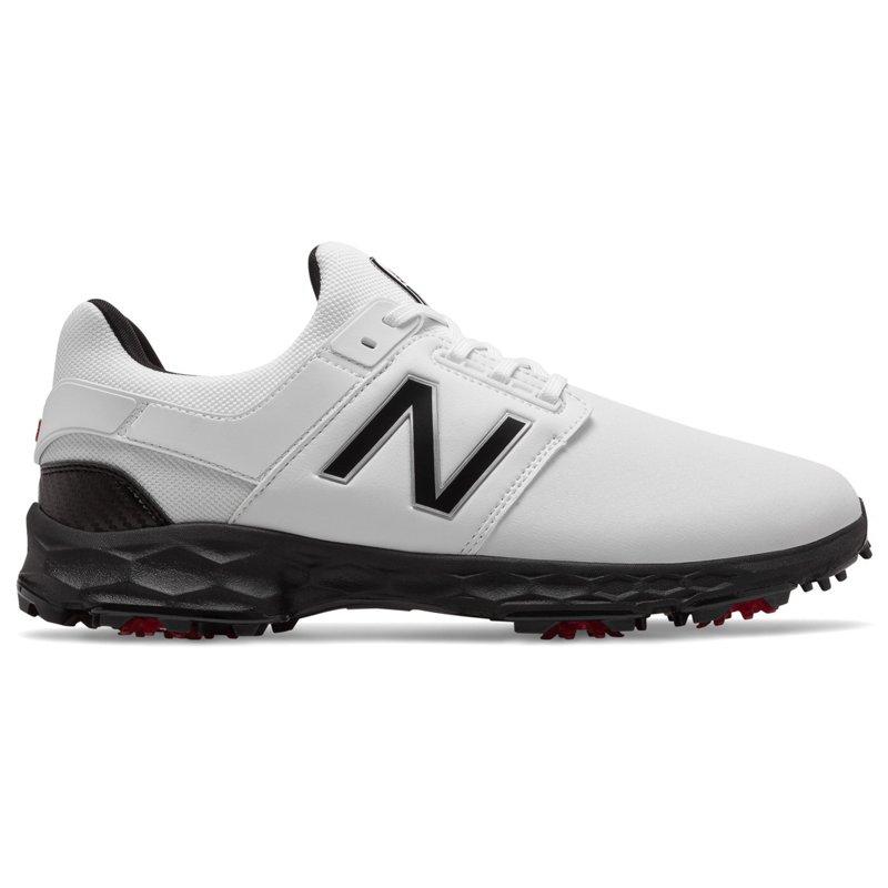 New Balance Men's Fresh Foam LinksPro Golf Shoes White/Black, 8 - Men's Golf Shoes at Academy Sports