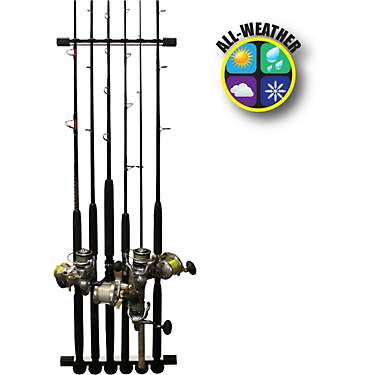 Rush Creek 3-in-1 All-Weather Fishing Rod Storage Rack