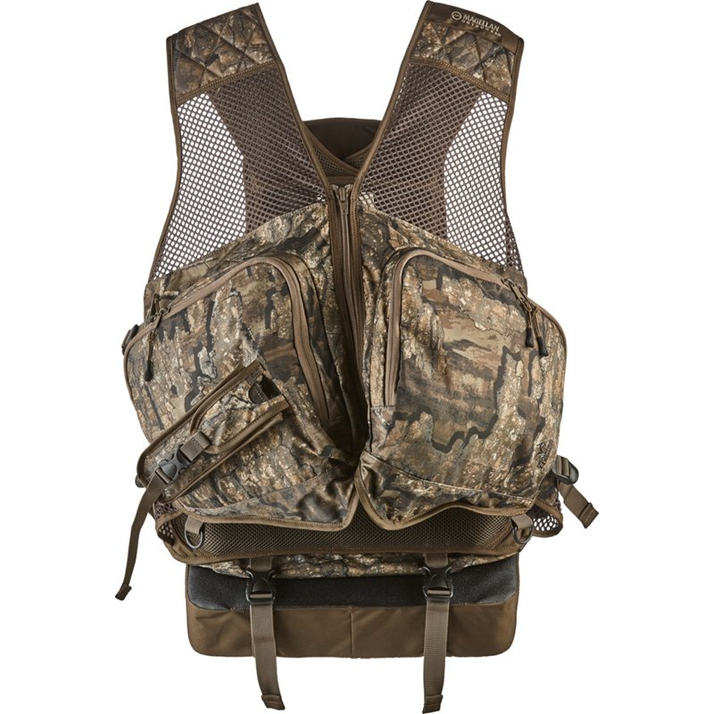Magellan Outdoors Men's Camo Deluxe Turkey Hunting Vest - Adult Non Insulted Camo at Academy Sports thumbnail
