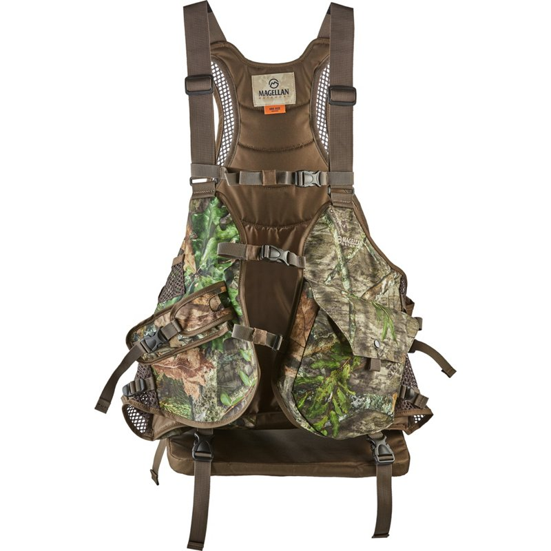 Magellan Outdoors Men's Camo Basic Strap Turkey Hunting Vest - Adult Non Insulted Camo at Academy Sports thumbnail