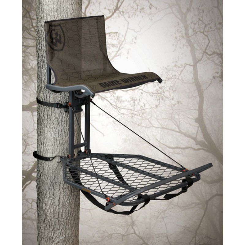 Game Winner EZ Set Oversize Hang-On Treestand Brown - Huntg Stands/Blnds/Accs at Academy Sports thumbnail