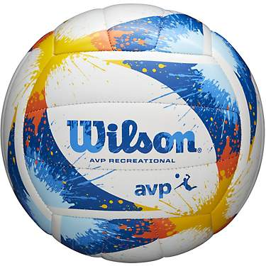 Wilson AVP Splatter Paint Volleyball