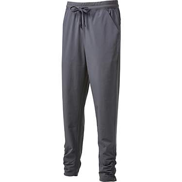 BCG Women's Ruched Woven Athletic Pants