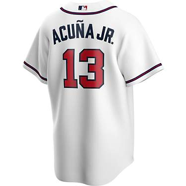 Nike Men's Atlanta Braves Ronald Acuna Jr. Official Replica Home Jersey