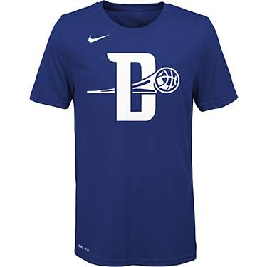 Nike Boys' Detroit Pistons City Edition Logo T-shirt