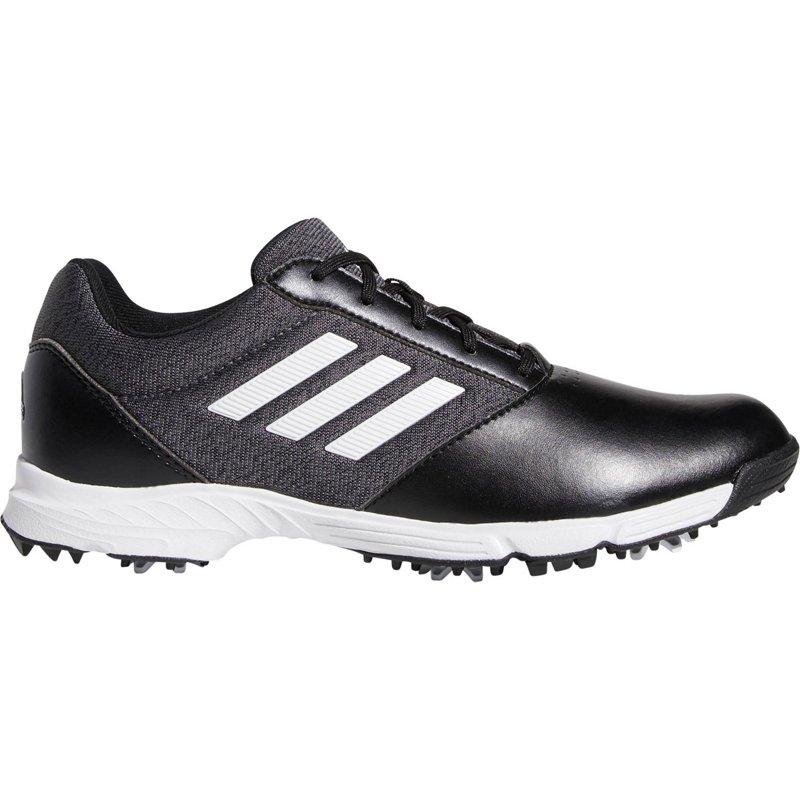 adidas Women's Tech Response Golf Shoes Black/Silver, 8.5 - Women's Outdoor at Academy Sports