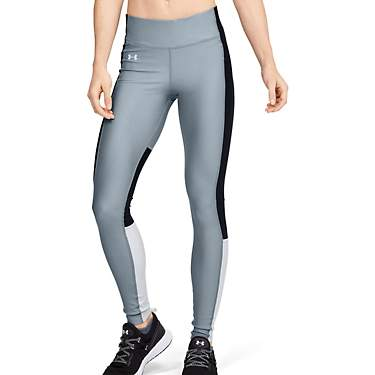 Under Armour Women's HeatGear Armour Perf Inset Graphic Leggings