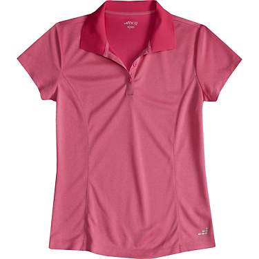 BCG Women's Athletic Solid Polo Shirt