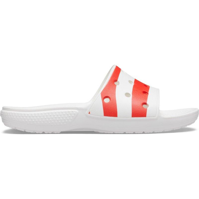 Crocs Men's Classic American Flag Slide Sandals, 10 - Crocs And Rubber Boots at Academy Sports