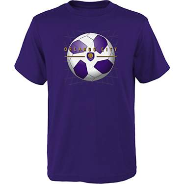 MLS Boys' Orlando City SC Back of the Net Graphic T-shirt