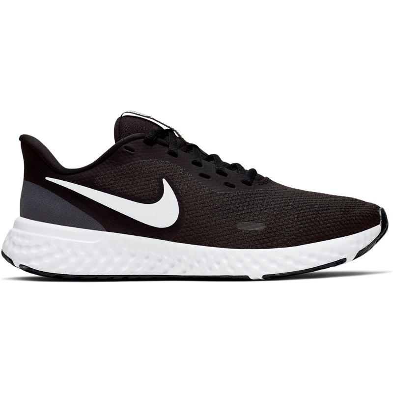Nike Women's Revolution 5 Running Shoes Black/White, 6.5 - Women's Running at Academy Sports