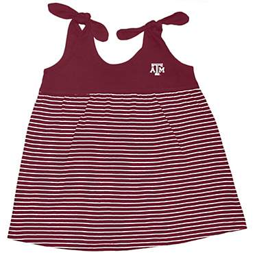 Two Feet Ahead Texas A&M University Toddler Girls' Stripe Sundress