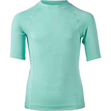 O'Rageous Girls' Solid Rash Guard