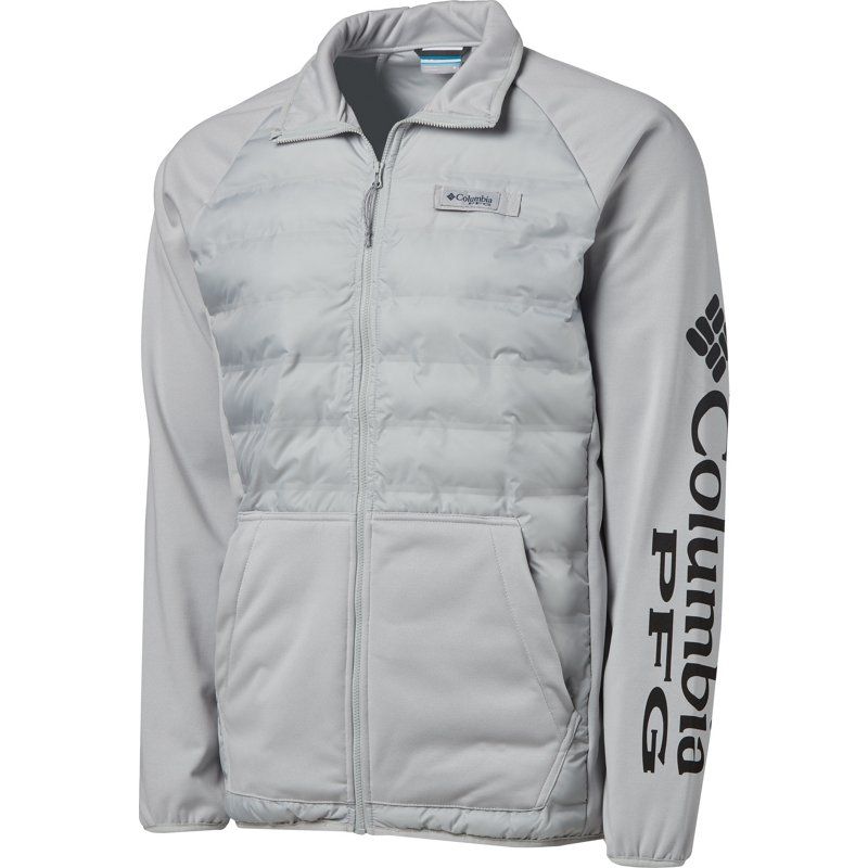 Columbia Sportswear Men's Terminal Hybrid Jacket Gray Light, X-Large – Men's Fishing Tops at Academy Sports
