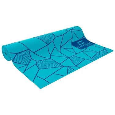 Capelli Sport Printed 2 ft x 6 ft x 4 mm Yoga Mat