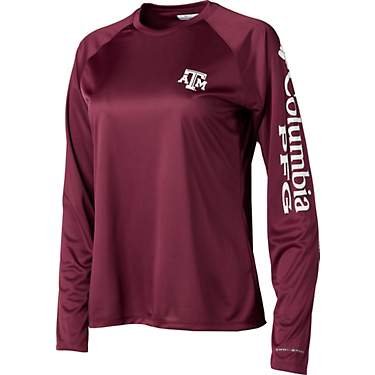 Columbia Sportswear Women's Texas A&M University Collegiate Terminal Tackle Long Sleeve T-shirt