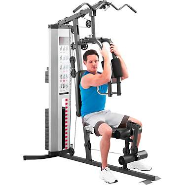 Chest Fly York Warrior Multi-Gym Weight BenchBarbell Lat Pull Down Quad