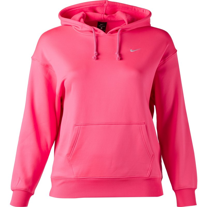 Nike Nike Women's Therma Training Pullover Hoodie Hyper Pink/White, X-Large  - Women's Athletic Fleece at Academy Sports from Academy Sports + Outdoor  ...