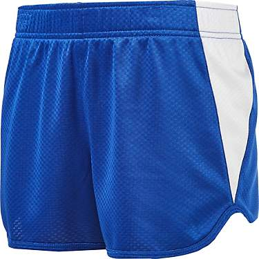 BCG Girls' Colorblock Honeycomb Shorts 3 in
