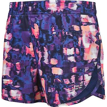 BCG Girls' Athletic Printed Running Shorts