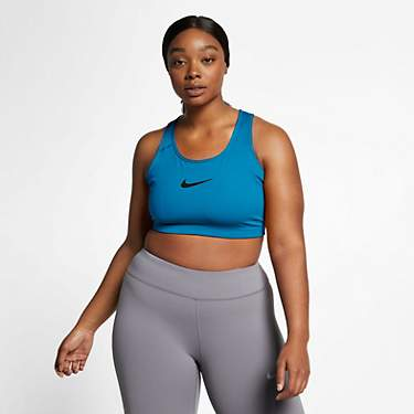 Nike Women's Swoosh Plus Size Medium-Support Sports Bra