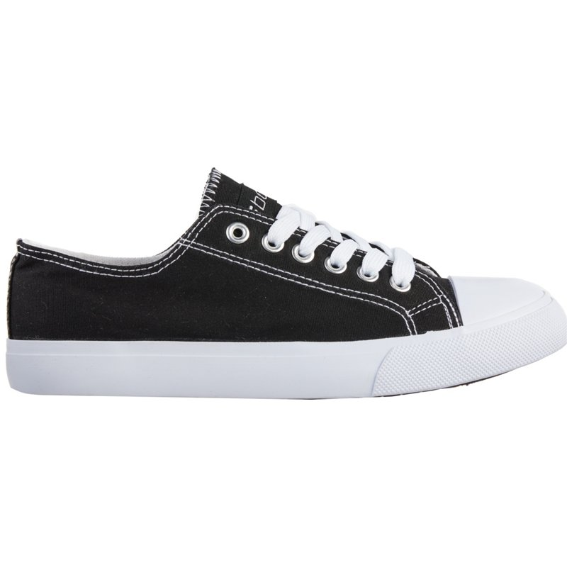 BCG Womens Canvas Lace Up Black, 7.5 - Women's Training at Academy Sports
