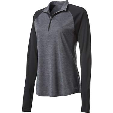BCG Women's Colorblock Turbo 1/4 Zip Pullover Sweatshirt
