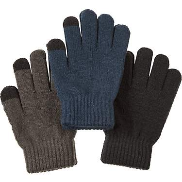 Magellan Youth Soft Touch Magic Glove Set 3-Pack