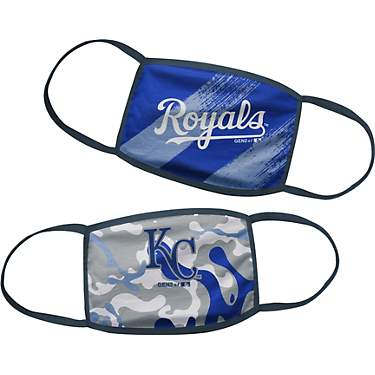 MLB Boys' Kansas City Royals Face Masks 2-Pack