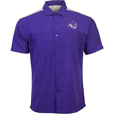 Antigua Men's Abilene Christian University Angler Woven Button Down Shirt