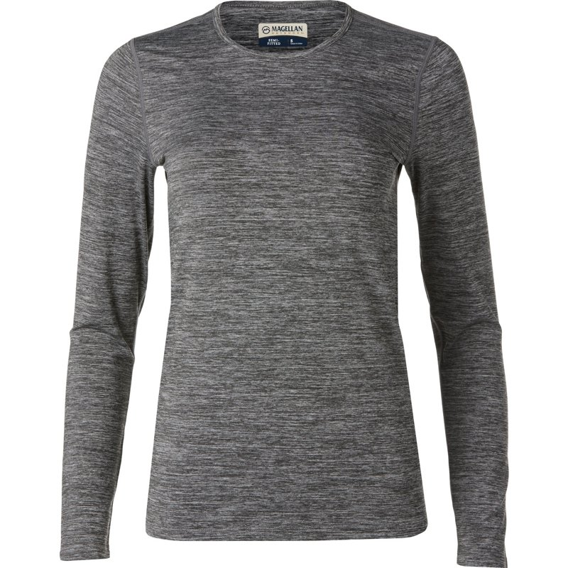 Magellan Outdoors Women's 2.0 Thermal Long Sleeve Baselayer Top Charcoal, Small – Men's Thermals at Academy Sports