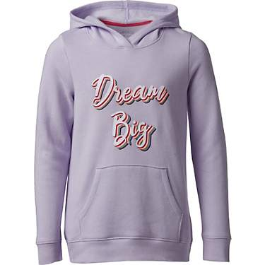 BCG Girls' Dream Big Fleece Hoodie