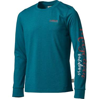 Magellan Outdoors Girls' Grotto Falls Long Sleeve Pullover Top