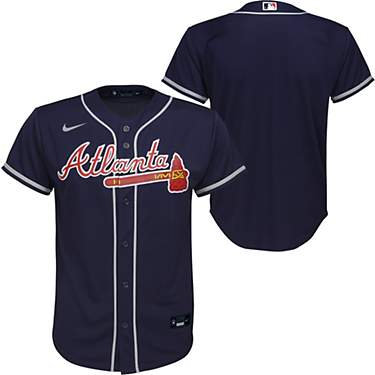 Nike Youth Atlanta Braves Replica Finished Jersey