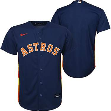 Nike Youth Houston Astros Replica Finished Jersey