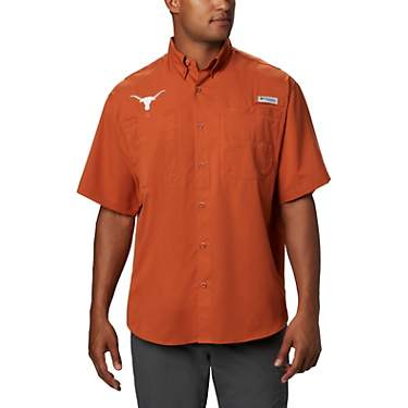 Columbia Sportswear Men's University of Texas Tamiami Button-Down Shirt