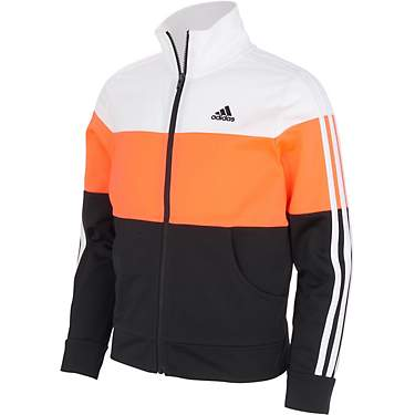 adidas Girls' Colorblock Tricot Jacket