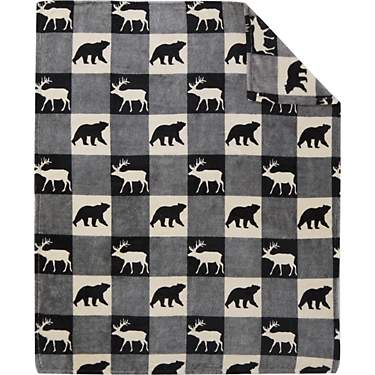 Cedar Creek Harrison Fleece Throw Blanket