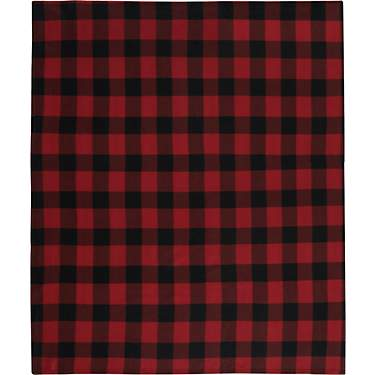 American Traditions Buffalo Check Fleece Throw Blanket
