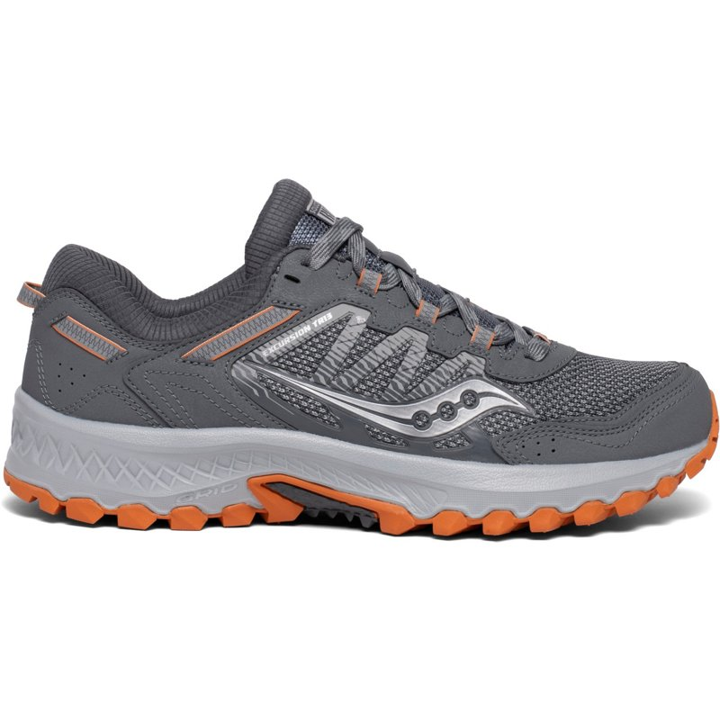 Saucony Men's Excursion TR13 Trail Running Shoes Gray/Orange, 10.5 - Men's Running at Academy Sports