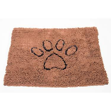 Dirty Dog Doormat Paw Print 35 in x 26 in Large Mat