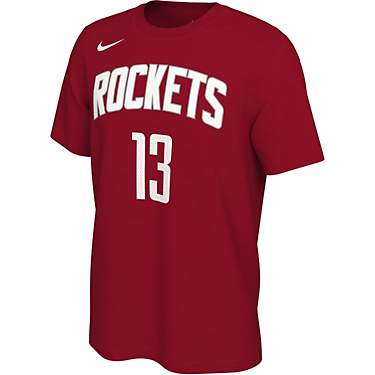Nike Men's Houston Rockets James Harden #13 Restart Short Sleeve T-shirt