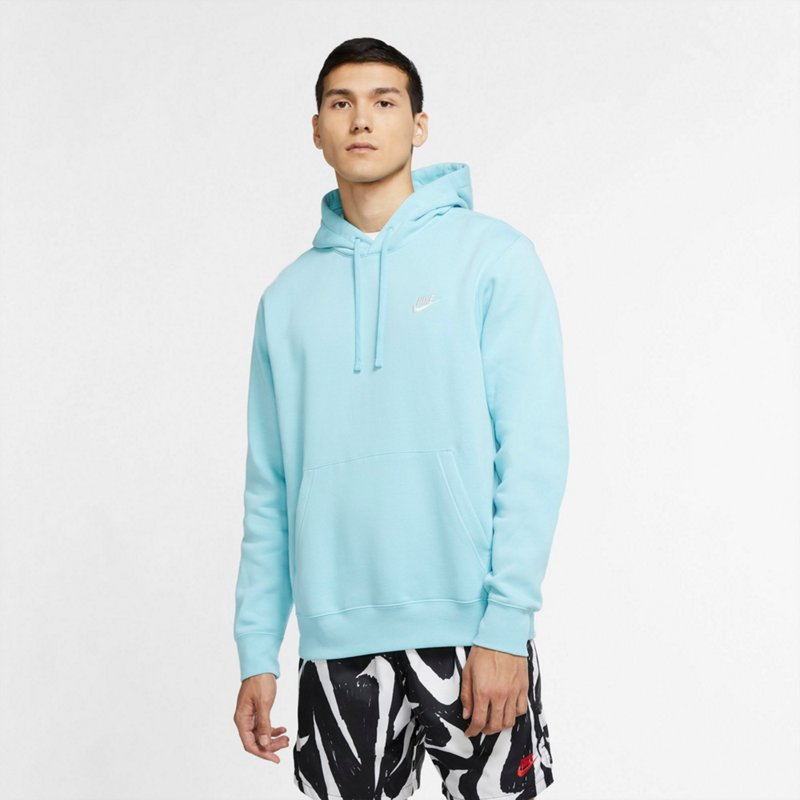 dominar Sui Conceder  Nike Men's Sportswear Club Fleece Pullover Hoodie Aqua/Turquoise Light,  2X-Large - Men's Athletic Fleece at Academy Sports | SportSpyder