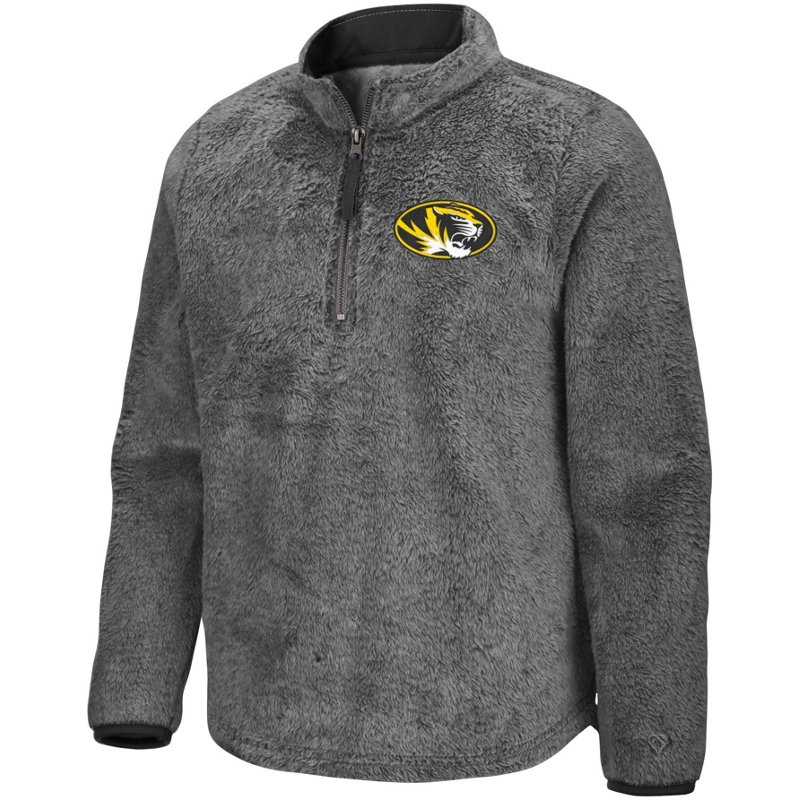 Colosseum Athletics Girls' University of Mississippi Puffer Fish 1/2 Zip Pullover Gray, Large – NCAA Men's Fleece/Jackets at Academy Sports