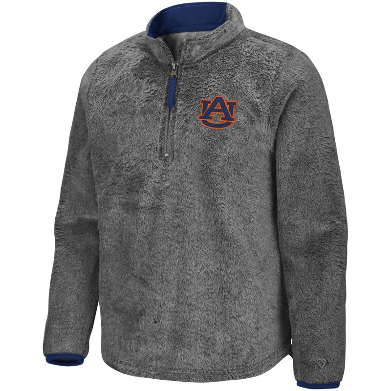 Colosseum Athletics Girls' Auburn University Puffer Fish 1/2 Zip Pullover Gray, Large – NCAA Men's Fleece/Jackets at Academy Sports