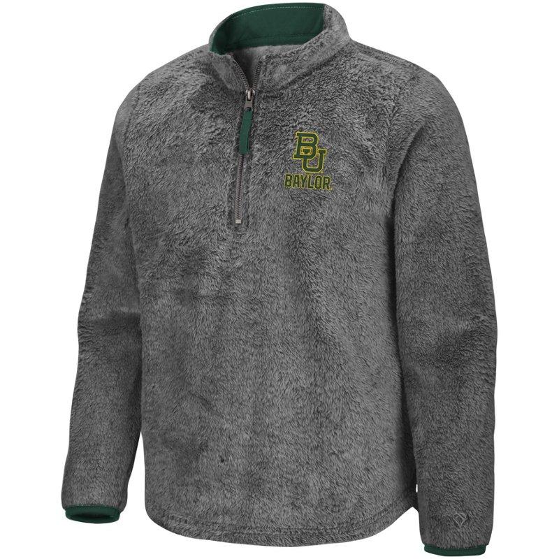 Colosseum Athletics Girls' Baylor University Puffer Fish 1/2 Zip Pullover Gray, Small – NCAA Men's Fleece/Jackets at Academy Sports