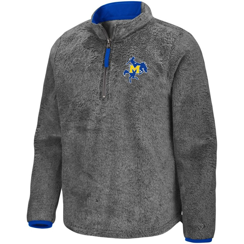 Colosseum Athletics Girls' McNeese State University Puffer Fish 1/2 Zip Pullover Gray, Small – NCAA Men's Fleece/Jackets at Academy Sports