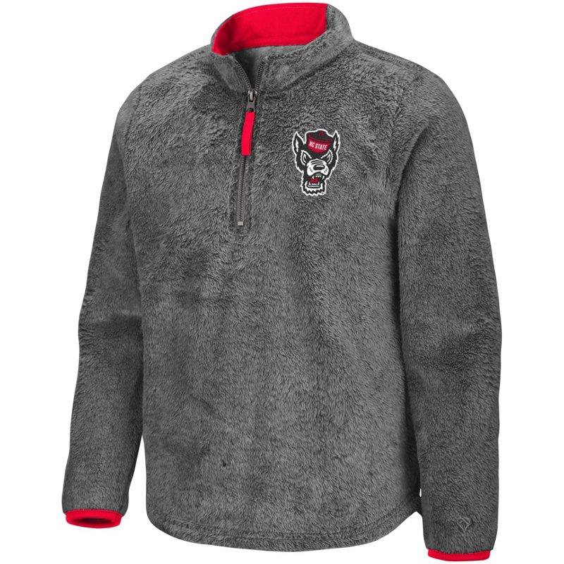 Colosseum Athletics Girls' North Carolina State University Puffer Fish 1/2 Zip Pullover Gray, Small – NCAA Men's Fleece/Jackets at Academy Sports