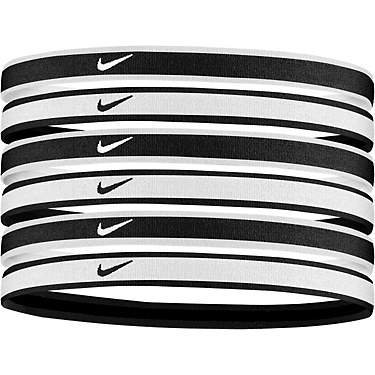Nike Women's Tipped Swoosh Sport 2.0 Headbands 6 Pack