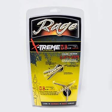 RAGE X-Treme Cut-on-Contact Broadheads 2-Pack